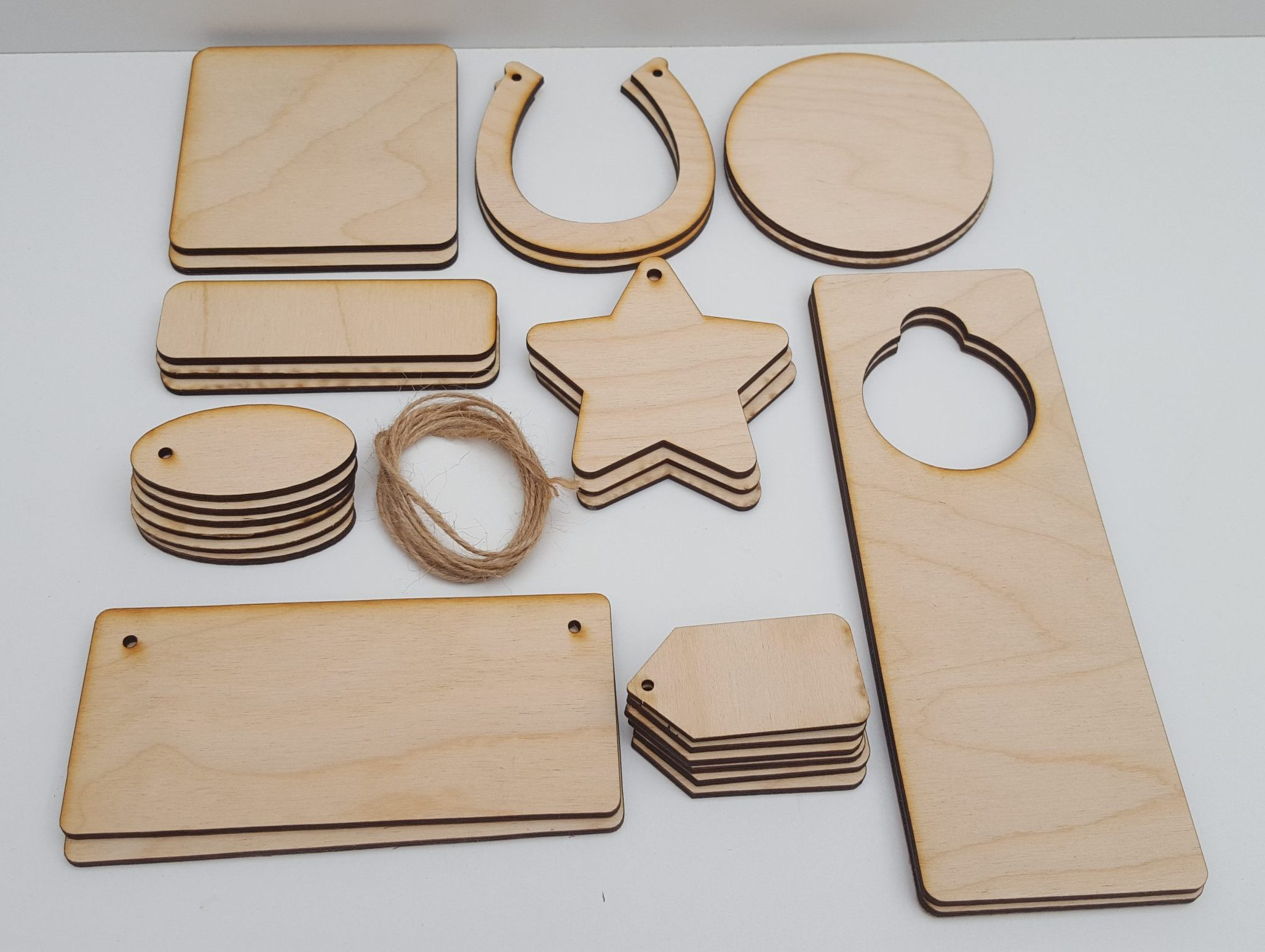 Pyrography or craft wooden set