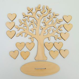 Family Tree plus Hearts and Base