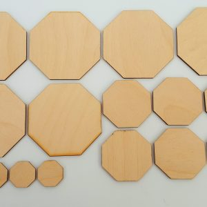 Octagonal Wooden Blanks