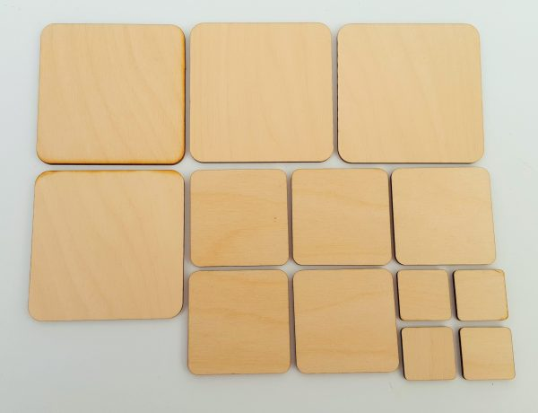 Square wooden Blanks