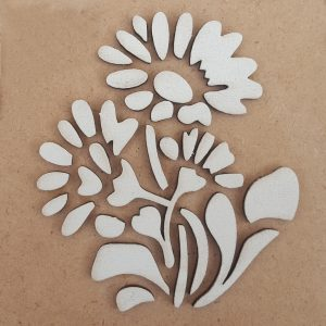 Wooden Embellishment - SC017 4 17
