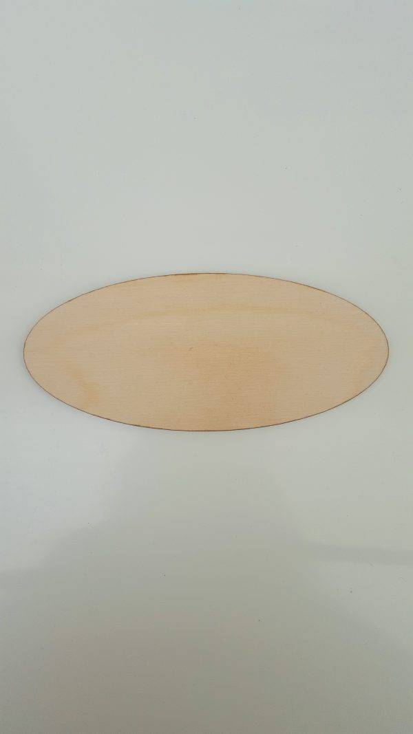 Door plaque - Oval - Without Holes