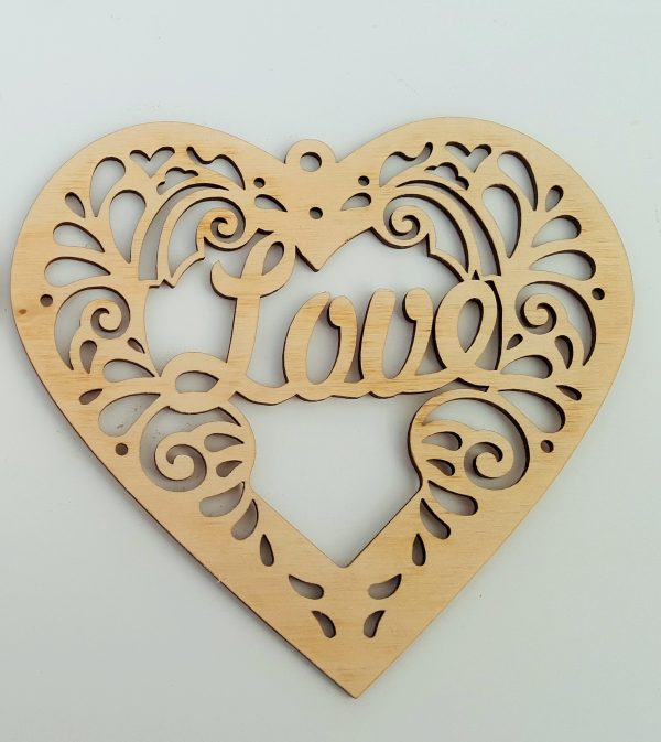 Decorative Heart - Love