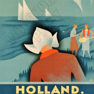 Holland Retro metal sign